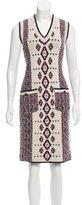 Chanel Paris-Dallas Alpaca Dress