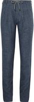 Brunello Cucinelli - Slub Linen Drawstring Trousers