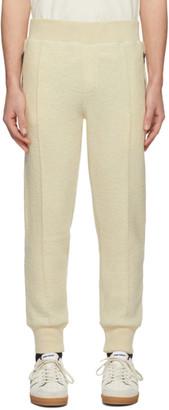 Ami Alexandre Mattiussi Off-White Boiled Wool Lounge Pants