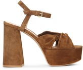Gianvito Rossi Donna suede platform sandals