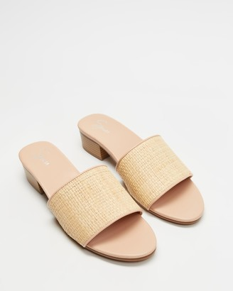 Spurr Women's Neutrals Mid-low heels - Iari Heels - Size 6 at The Iconic