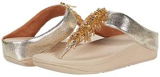 FitFlop Velma Adorn Toe-Thong (Black) Women's Shoes