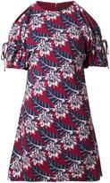 Thakoon bare shoulder mini dress