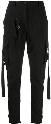 Masnada High-Waisted Cargo Trousers