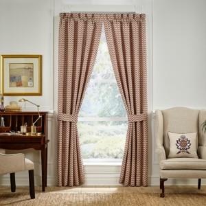 "Croscill Lauryn 95"" X 95"" Curtain Window Panel Pair Bedding"