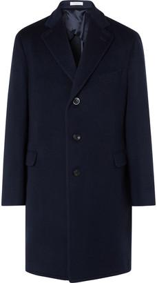 Boglioli Virgin Wool Overcoat