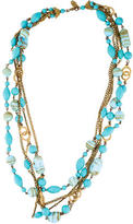 Miriam Haskell Multistrand Bead Necklace
