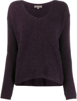 N.Peal boxy V-neck jumper