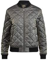 Polo Ralph Lauren Quilted Satin Bomber Jacket