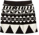 Ralph Lauren Fleece Pull-On Skirt