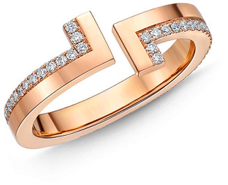 Memoire L Collection 18K Rose Gold 0.34 Ct. Tw. Diamond Ring