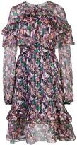 Prabal Gurung long sleeve ruffle dress