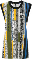 Versus multi-stripe tank - women - Cotton/Polyester/Spandex/Elastane - XS
