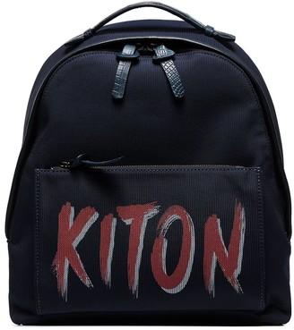 Kiton Logo Backpack