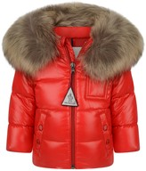 Moncler Baby Down Padded K2 Red Coat