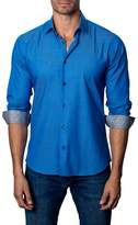 Jared Lang Men's Trim Fit Sport Shirt