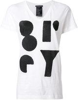 Ann Demeulemeester Lucian print T-shirt