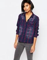 Vero Moda Ombre Check Shirt