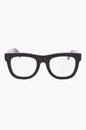 Super Patent Black Ciccio Optical Glasses