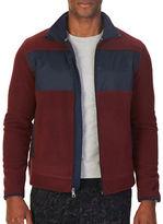 Nautica Slim-Fit Zip-Front Fleece Jacket