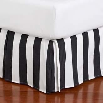 Pottery Barn Teen The Emily &amp Meritt Circus Stripe Bedskirt, Full