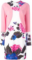 MSGM floral print dress - women - Polyester/Viscose - 48
