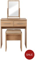 Prague Dressing Table, Stool And Mirror Set