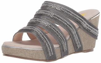 Volatile Women's Multi Strap Slide Wedge Sandal