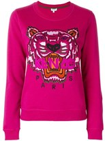 Kenzo Women's Fuchsia Cotton Sweatshirt.