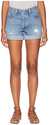 Levi's(r) Premium Premium 501 Long Shorts (Highways & Biways) Women's Shorts