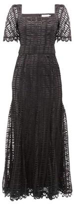 Goat Jolene Ladder-lace Gown - Black