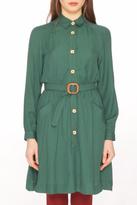 PepaLoves Belted Salma Shirt Dress