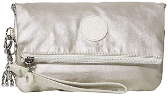 Kipling Lynne Convertible Crossbody Bag (Cloud Metal) Handbags