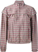 Jil Sander Navy striped jacket