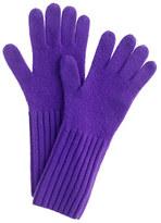 J.Crew Cashmere long gloves