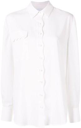 Acler Aviel scalloped shirt
