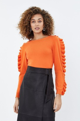 Coast Ruffle Long Sleeve Jumper