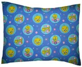 SheetWorld Percale Twin Pillow Case - Tweety - Made In USA