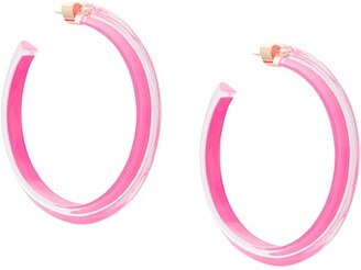 Alison Lou medium jelly hoops