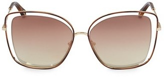 Chloé 60MM Butterfly Sunglasses