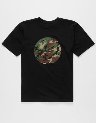 RVCA Motors Camo Fill Boys T-Shirt
