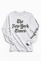 Altru Apparel New York Times Long Sleeve Tee