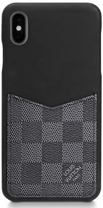 Louis Vuitton iPhone Case Damier Graphite XS MAX Black