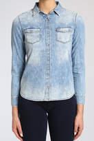 Mavi Jeans Embroidered Denim Shirt