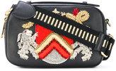 Alberta Ferretti embroidered crossbody bag