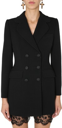 Dolce & Gabbana Long Double-Breasted Jacket