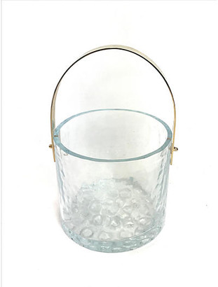 One Kings Lane Vintage Swedish Ice Bucket by Mantorp Glass - Eat Drink Home