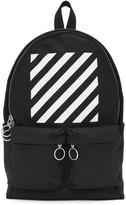 Off-White Black & White Diagonals Backpack