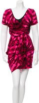 Mara Hoffman Printed Silk Mini Dress w/ Tags