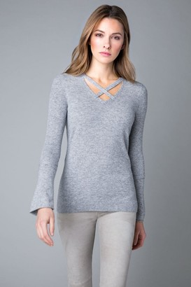 Kinross Crossover Neck And Sleeve - Small